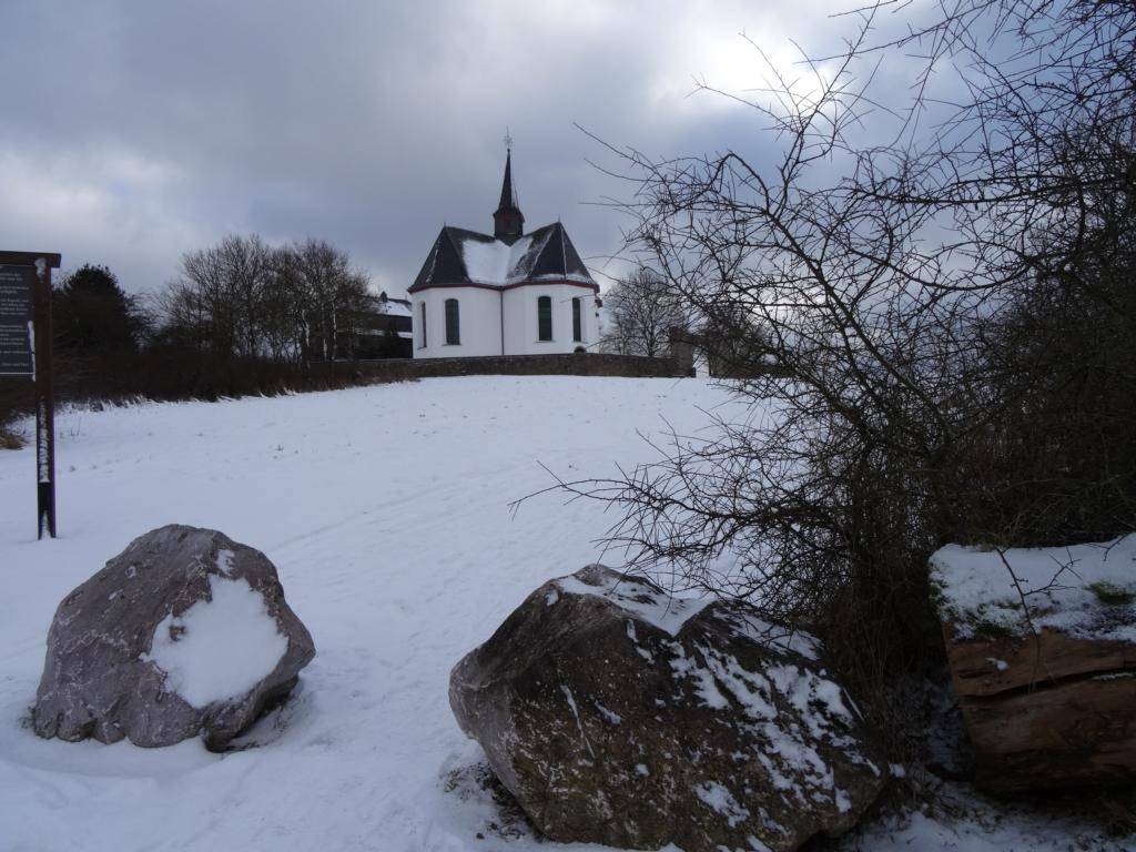 Niederselters – Bad Camberg über Kreuzkapelle, 15 Januar 2017