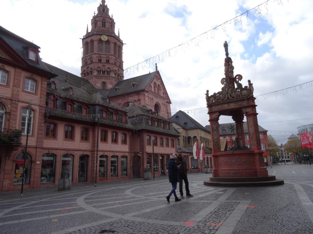 Mainz: 3 Brücken und Dom, 19 November 2017