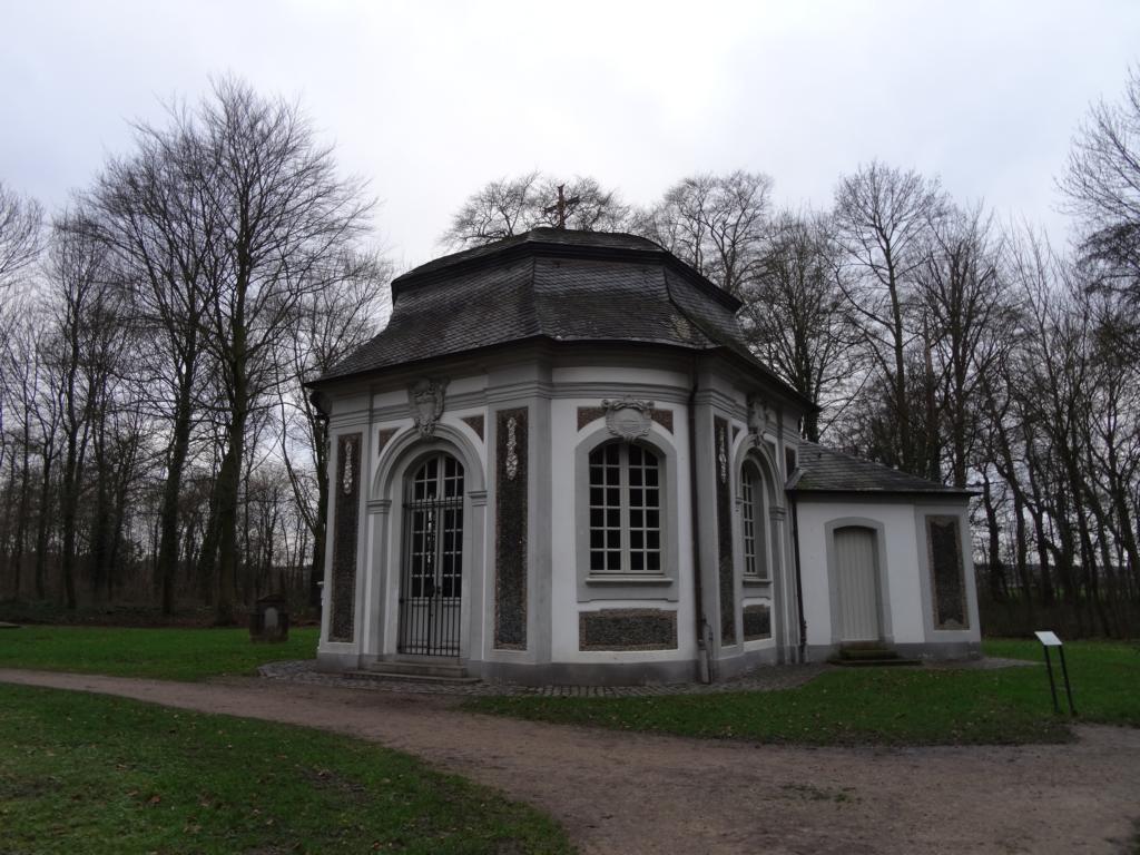 Brühler Schloss mit Park, 24 Dezember 2017