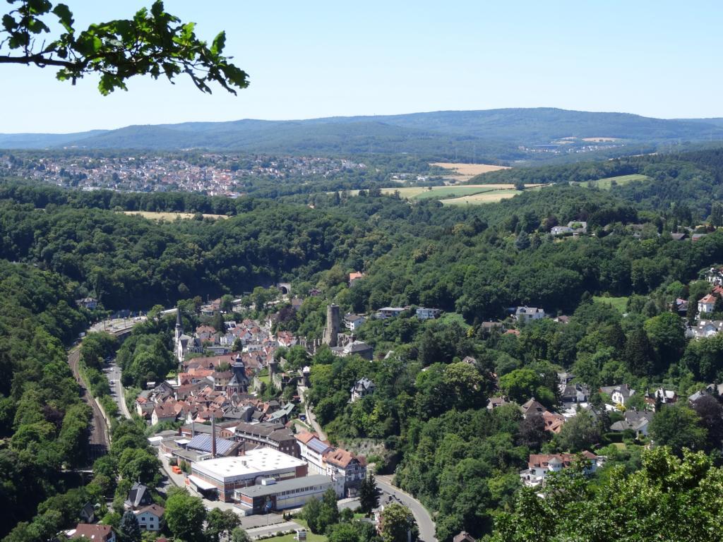 Burg Eppstein und Nassauische Schweiz, 1 Juli 2018
