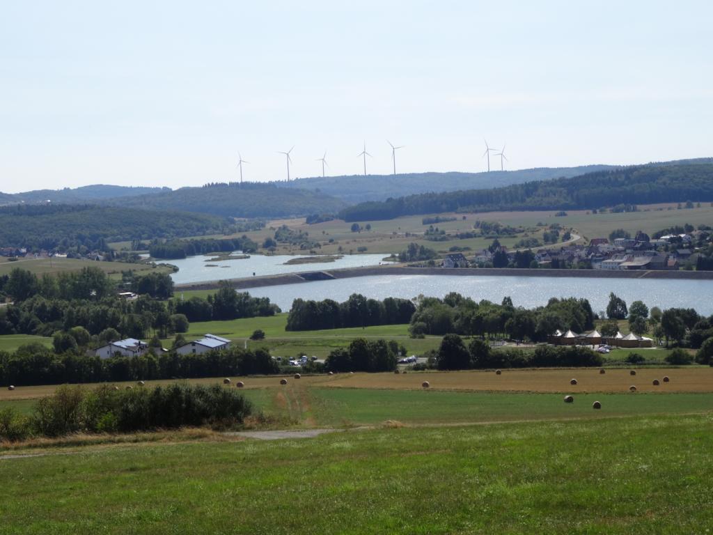 Aartalsee Panoramaweg mit Marienkirche und Seerunde, 19 August 2018