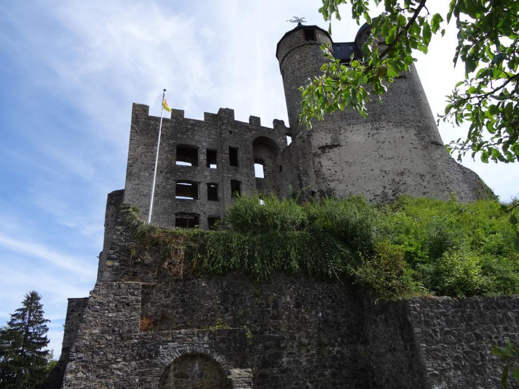 Hugenottenweg und Burg Greifenstein, 12 August 2018