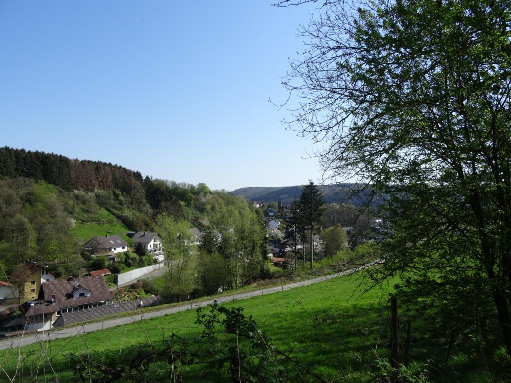 Hennef – Wahnbachtalsperre, 20 April 2019